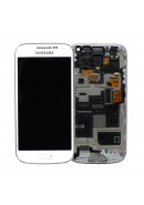 TOUCHSCREEN C/ ARO E DISPLAY SAMSUNG S4 MINI LTE, I9195 BRANCO ORIGINAL (GH97-14766E)