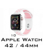 BRACELETE SILICONE APPLE WATCH 42MM/44MM (MODELO 10)
