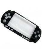 TAMPA FRONTAL SONY PSP 2000 PRETA ORIGINAL