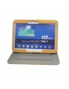 CAPA COM SUPORTE SAMSUNG GALAXY TAB 3 10.1 P5200 AMARELA