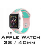 BRACELETE SILICONE APPLE WATCH 38MM/40MM (MODELO 12)