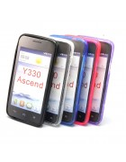 CAPA SILICONE JELLY HUAWEI ASCEND Y330 BRANCA