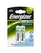 PILHA ENERGIZER RECARREGAVEL 2AA 2450MAH