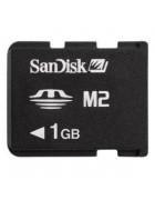 CARTÃO MEMÓRIA SANDISK MEMORYSTICK MICRO M2 1GB BULK