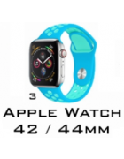 BRACELETE SILICONE APPLE WATCH 42MM/44MM (MODELO 3)