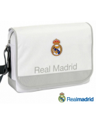 "MALA PORTATIL REAL MADRID C.F. BRANCA 15""-16"" ORIGINAL (ACOLCHOADA)"