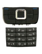 TECLADO SUPERIOR E INFERIOR NOKIA E66 CINZA COMPATIVEL