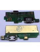 PLACA INTERIOR COM CONECTOR DE CARGA E MICROFONE ALCATEL ONETOUCH IDOL X PLUS 6043 ORIGINAL