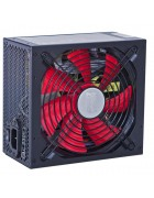 "FONTE HALFMMAN 750W REGULAR ""RED STORM"" – CERTIFICADA 80PLUS"