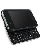 TECLADO BLUETOOTH COM SUPORTE PARA IPHONE 4G, 4S PRETO