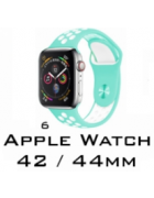 BRACELETE SILICONE APPLE WATCH 42MM/44MM (MODELO 6)