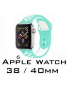 BRACELETE SILICONE APPLE WATCH 38MM/40MM (MODELO 6)