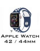 BRACELETE SILICONE APPLE WATCH 42MM/44MM (MODELO 7)
