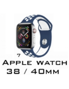 BRACELETE SILICONE APPLE WATCH 38MM/40MM (MODELO 7)