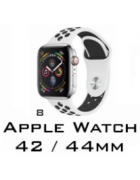 BRACELETE SILICONE APPLE WATCH 42MM/44MM (MODELO 8)
