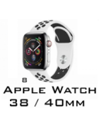 BRACELETE SILICONE APPLE WATCH 38MM/40MM (MODELO 8)