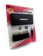 CARREGADOR UNIVERSAL 90W + ENTRADA USB (8 PONTEIRAS) BLISTER