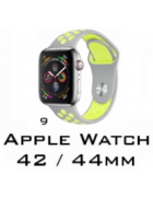 BRACELETE SILICONE APPLE WATCH 42MM/44MM (MODELO 9)