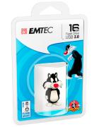 PEN DRIVE EMTEC SYLVESTER 16GB BLISTER (USB 2.0)
