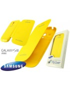 FLIP COVER SAMSUNG GALAXY S3 MINI I8190, I8195 YELLOW ORIGINAL BLISTER