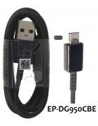 CABO DADOS SAMSUNG EP-DG950 PRETO ORIGINAL (MICRO USB TYPE C)