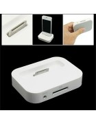 DOCK STATION IPHONE 4G,4S BRANCO