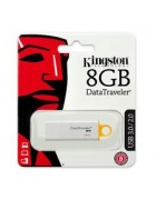 PEN DRIVE KINGSTON 8GB DATATRAVELER G4 USB 3.1 BRANCA ORIGINAL BLISTER