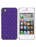 CAPA DIAMOND IPHONE 4G,4S ROXA
