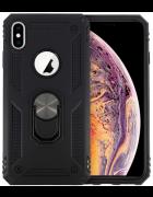 CAPA DEFENDER II C/ SUPORTE ANELAR IPHONE XS MAX PRETA