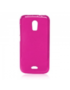 BOLSA SILICONE JELLY VODAFONE SMART 4 POWER ROSA