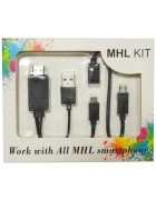 ADAPTADOR MHL KIT HDMI HDTV (4in1) BLISTER