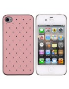 CAPA DIAMOND IPHONE 4G,4S ROSA