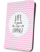 BOLSA TABLET UNIVERSAL 9''- 10.1'' DESENHO LIFE IS MADE FOR LIVING BLISTER