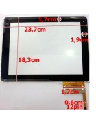 "TOUCHSCREEN TABLET 9.7"" MODELO 1 PRETO ORIGINAL"