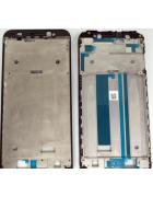 CAPA CHASSI FRONTAL ASUS ZENFONE MAX (M1) ZB555KL PRETA ORIGINAL (X00PD)