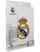 BOLSA REAL MADRID UNIVERSAL TABLET 9.7''- 10.1'' BRANCA ORIGINAL