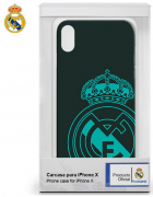 BOLSA SILICONE JELLY REAL MADRID IPHONE X, IPHONE XS VERDE ORIGINAL BLISTER