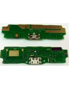 PLACA INTERIOR COM CONECTOR DE CARGA, ANTENA E MICROFONE XIAOMI REDMI 5A ORIGINAL