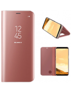 CAPA SMART S-VIEW SAMSUNG GALAXY A6 PLUS (2018), A605F ROSA BLISTER