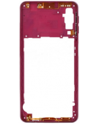 CAPA INTERMÉDIA / CHASSI SAMSUNG GALAXY A7 (2018), A750F ROSA ORIGINAL