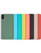 CAPA SILICONE COVER HUAWEI P SMART Z ROSA PASTEL BLISTER