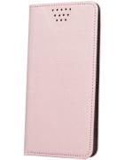 CAPA SLIM BOOK SAMSUNG G530 (GRAND PRIME) ROSA-DOURADA