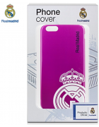 BOLSA SILICONE JELLY REAL MADRID IPHONE 6 PLUS, IPHONE 6S PLUS ROSA ORIGINAL BLISTER