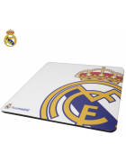 TAPETE RATO REAL MADRID (220*220*1.5MM) BRANCO ORIGINAL BLISTER