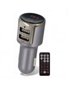 TRANSMISSOR MODULADOR BLUETOOTH FM MP3 FOREVER TR-340 PRETO BLISTER