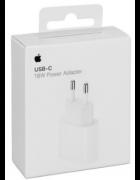 ADAPTADOR CORRENTE USB-C 18W APPLE MU7V2ZM/A BRANCO ORIGINAL BLISTER