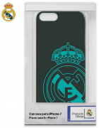BOLSA SILICONE JELLY REAL MADRID IPHONE 7, IPHONE 8 VERDE ORIGINAL BLISTER