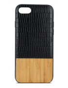 CAPA WOODEN M.3 IPHONE 7 PLUS, IPHONE 8 PLUS PRETA