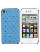 CAPA DIAMOND IPHONE 4G, 4S AZUL CLARO